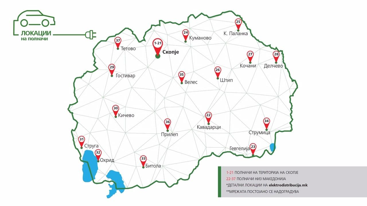Mapa Na Polnaci Niz Makedonija Makedonski Vesnik Ilinden